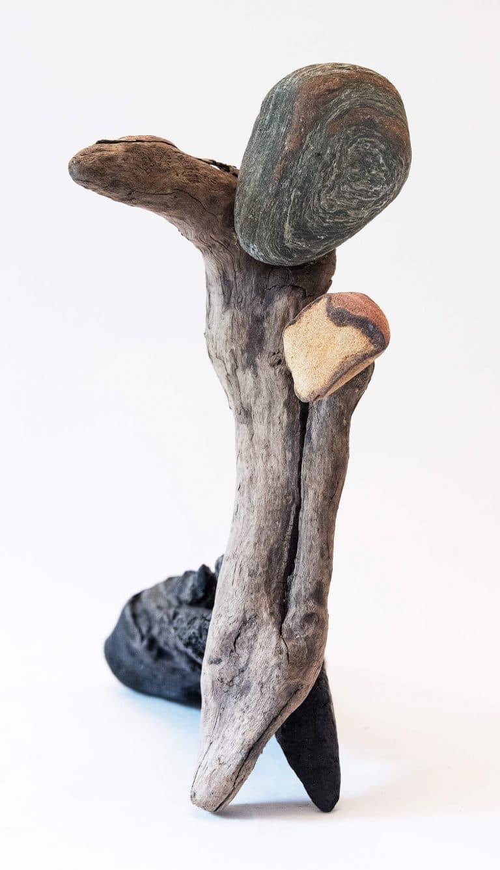 Rolf Stuber Holzskulptur #01