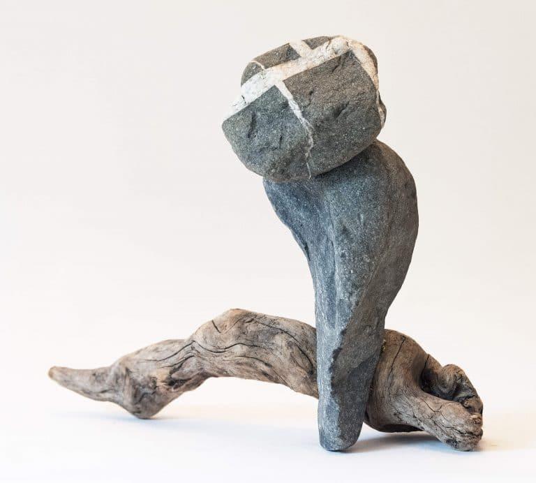 Rolf Stuber Holzskulptur #05