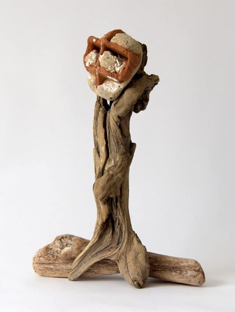 Rolf Stuber Holzskulptur #14