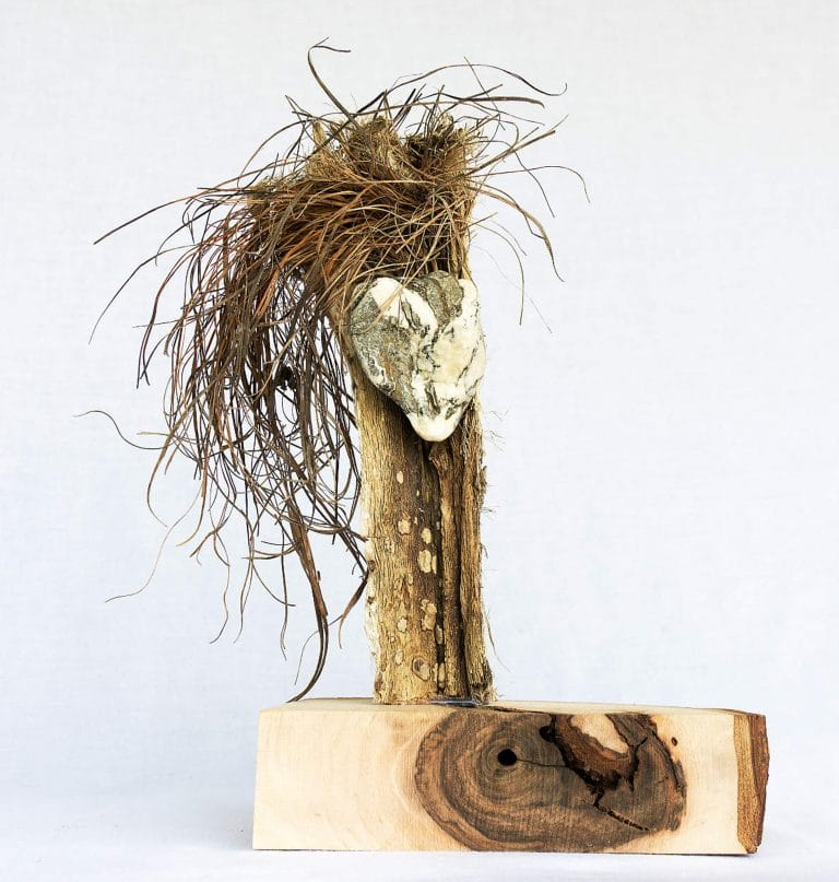 Rolf Stuber Holzskulptur #24