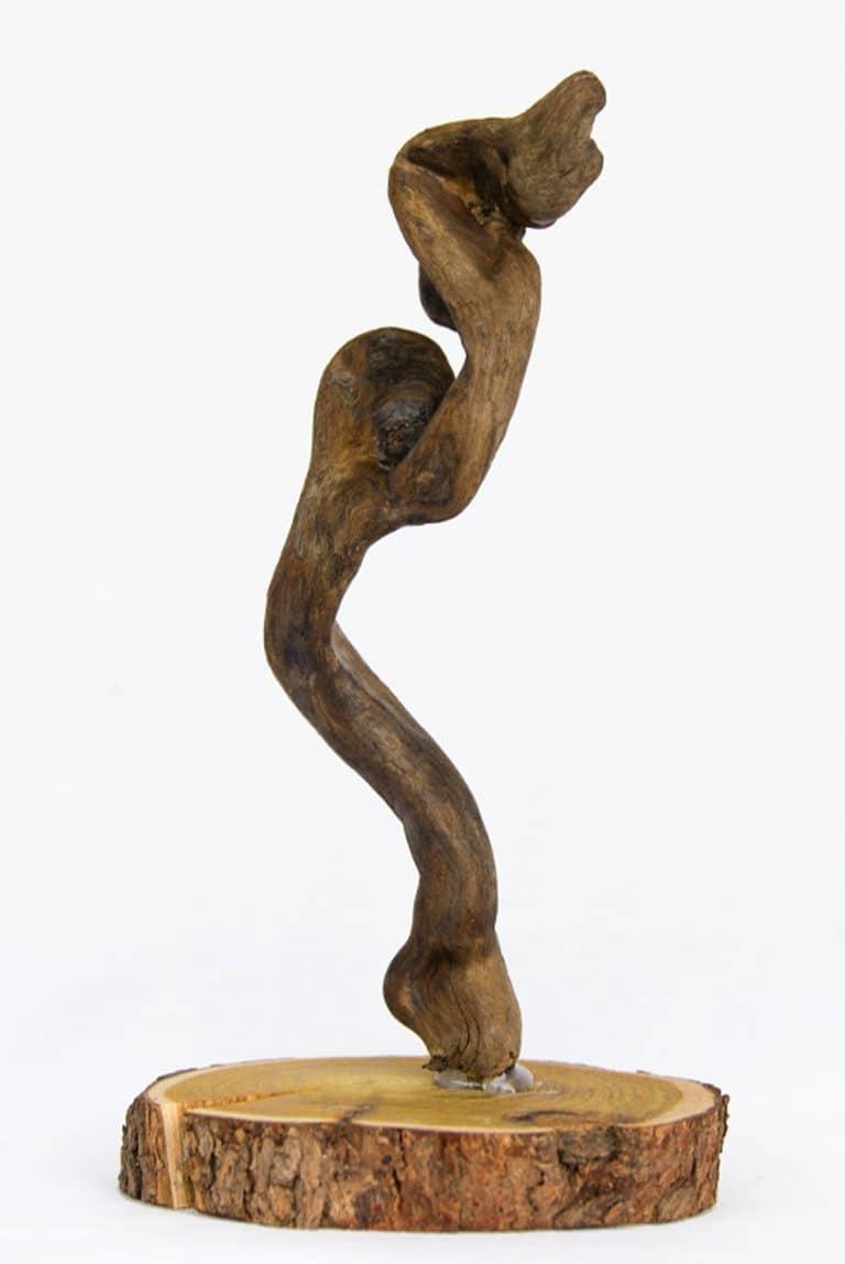 Rolf Stuber Holzskulptur #26